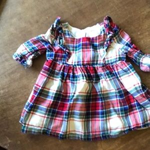 Infant girl holiday dress